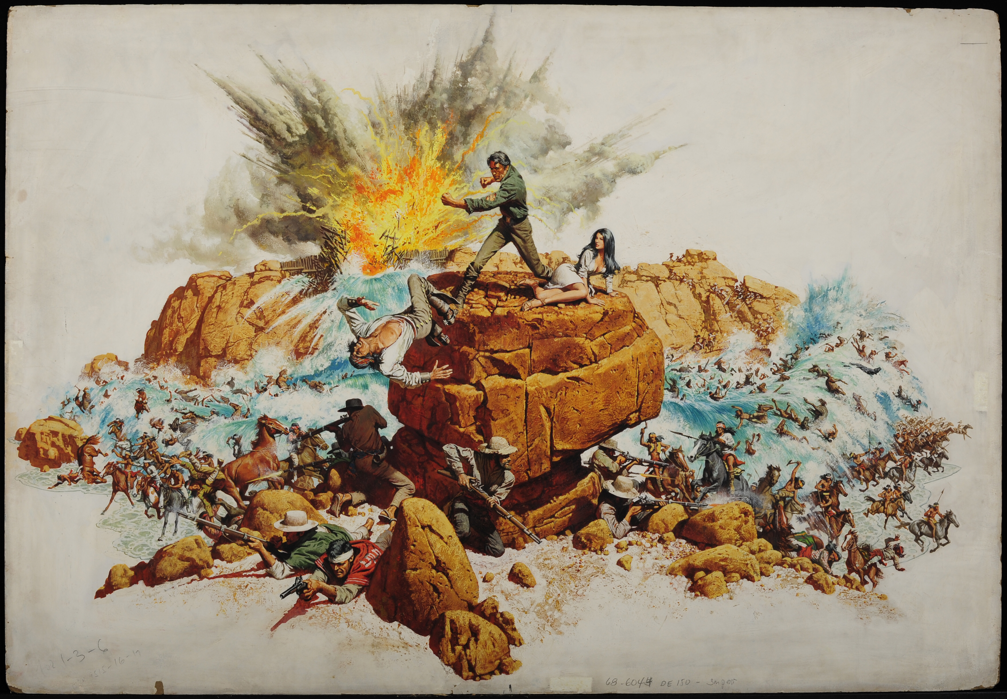 The Movie Art Of Frank Mccarthy