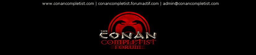 The Conan Completist Forum