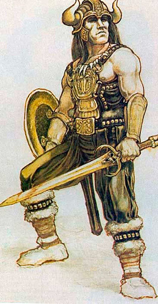 Historical Art and  Symbolism inspiration in CONAN - Page 4 ConanA912