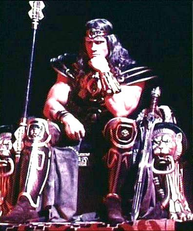Conan The Destroyer Throne The conan completist Conan The Destroyer Throne